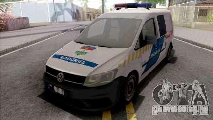 Volkswagen Caddy Magyar Rendorseg для GTA San Andreas