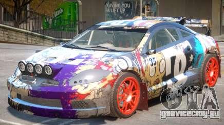 Mitsubishi Eclipse Rally PJ2 для GTA 4