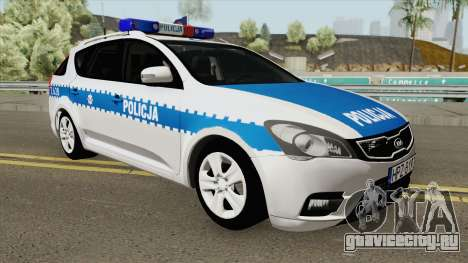 Kia Ceed SW I (Policja KSP Warszawa) для GTA San Andreas