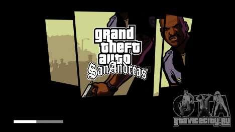 Загрузочные экраны в HD для GTA San Andreas