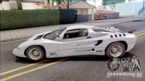 GTA V-ar Grotti Cheetah Retro IVF для GTA San Andreas