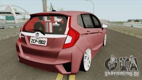 Honda Fit 2014 для GTA San Andreas