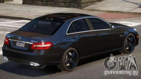 Mercedes E63 V1.1 для GTA 4