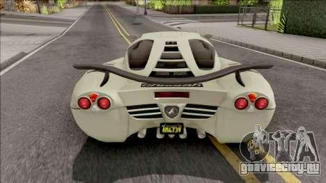 GTA V-ar Grotti Cheetah Retro для GTA San Andreas