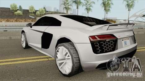 Audi R8 V10 Plus Coupe (SA Style) 2016 для GTA San Andreas