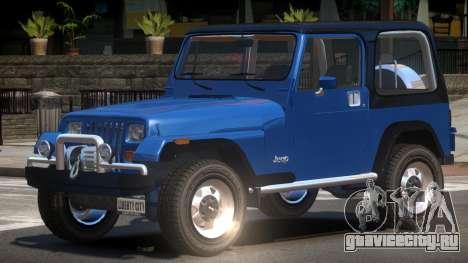 1986 Jeep Wrangler для GTA 4