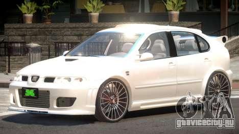 Seat Leon V1.0 для GTA 4