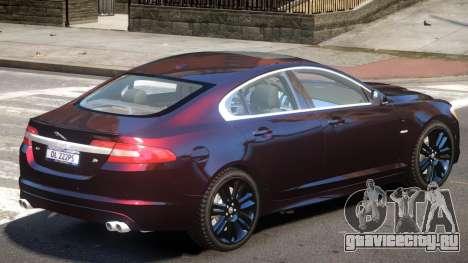 Jaguar XFR V1.4 для GTA 4