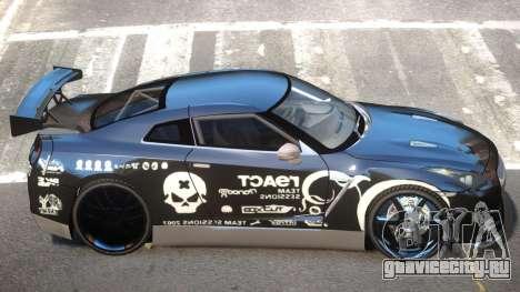 Nissan GT-R 35 V1.0 PJ для GTA 4