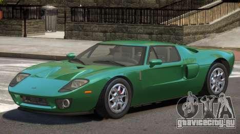 Ford GT ST для GTA 4