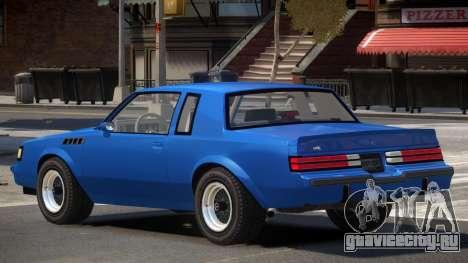 1987 Buick GNX V1 для GTA 4