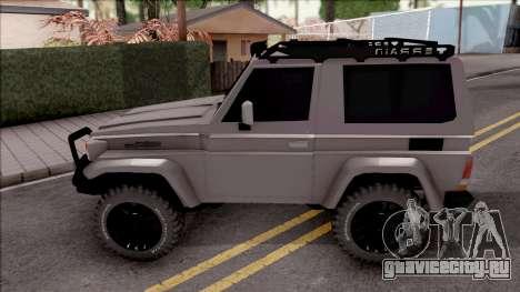 Toyota Land Cruiser 4x4 Off-Road для GTA San Andreas