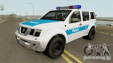 Nissan Pathfinder (Policja KMP Biala Podlaska) для GTA San Andreas