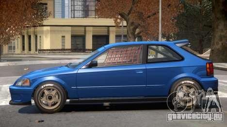 Dinka Blista Compact V1 для GTA 4