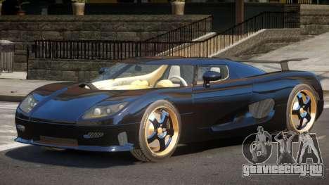 Koenigsegg CCRT ST для GTA 4