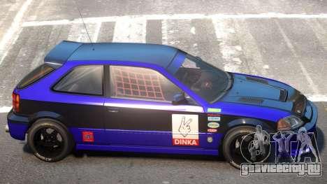 Dinka Blista Compact V1 PJ3 для GTA 4