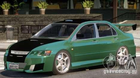 Mitsubishi Lancer 8 RS для GTA 4