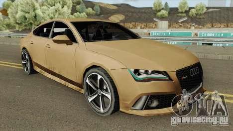 Audi RS7 2014 (Black Interior) для GTA San Andreas