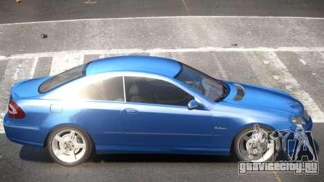 Mercedes CLK 63 Y5 для GTA 4