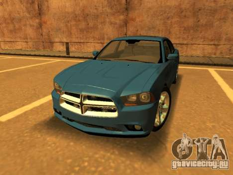 Dodge Charger RT LD 2013 для GTA San Andreas