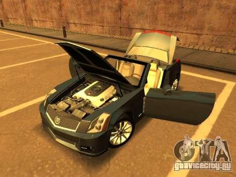 Cadillac XLR-V 2009 для GTA San Andreas