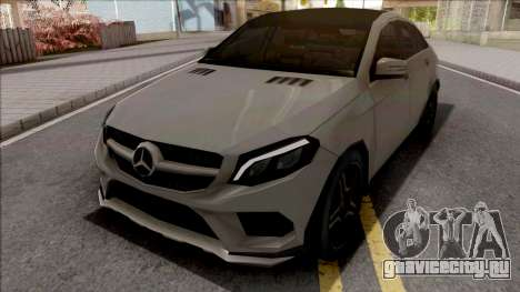 Mercedes-Benz GLE 350 Coupe Lowpoly для GTA San Andreas