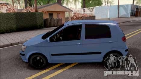 Hyundai Getz Sound Car для GTA San Andreas