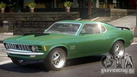 Ford Mustang V1.0 для GTA 4