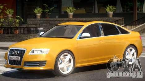 Audi RS6 M7 V1.2 для GTA 4