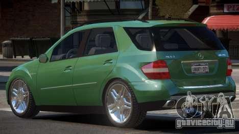 Mercedes ML63 ST для GTA 4