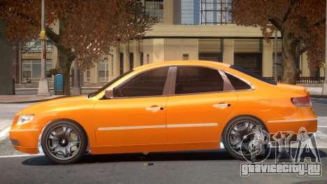 Hyundai Azera V1.0 для GTA 4