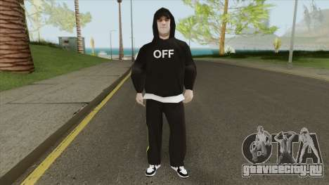 Random Skin V2 (Off-White) для GTA San Andreas