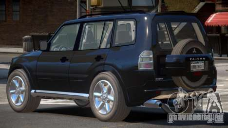 Mitsubishi Pajero Y11 для GTA 4