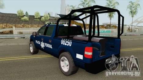 Ford F-150 2008 (Policia Federal) для GTA San Andreas