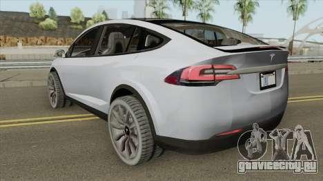 Tesla Model X (Low Poly) 2016 для GTA San Andreas