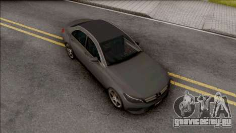Mercedes-AMG E63 2018 Lowpoly для GTA San Andreas