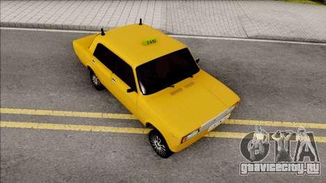 ВАЗ 2107 Drift Taxi Baku City для GTA San Andreas