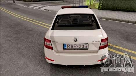 Skoda Octavia A7 Rendorseg для GTA San Andreas