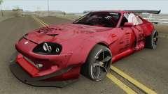 Toyota Supra (Rocket Bunny Pandem) для GTA San Andreas