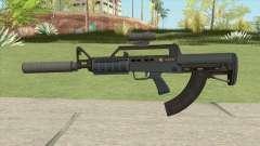 Bullpup Rifle (Two Upgrades V10) Old Gen GTA V для GTA San Andreas