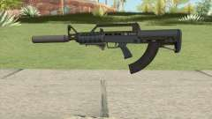 Bullpup Rifle (Two Upgrades V4) Old Gen GTA V для GTA San Andreas