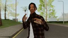 Travis Scott (SA Style) для GTA San Andreas