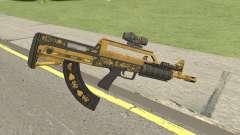 Bullpup Rifle (Two Upgrades V4) Main Tint GTA V для GTA San Andreas