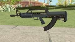 Bullpup Rifle (Base V2) Old Gen Tint GTA V для GTA San Andreas