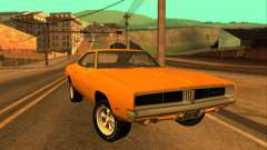 Dodge Charger RT 1969 Orange для GTA San Andreas