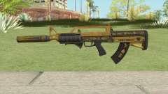 Bullpup Rifle (Two Upgrades V5) Main Tint GTA V для GTA San Andreas