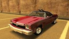 1973 Chevrolet El Camino SS 350 для GTA San Andreas