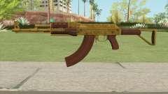 Assault Rifle GTA V Flashlight (Extended Clip) для GTA San Andreas