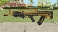 Bullpup Rifle (Two Upgrades V1) Main Tint GTA V для GTA San Andreas