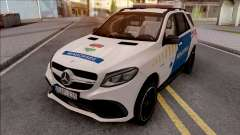 Mercedes-AMG GLE 63S Rendorseg для GTA San Andreas